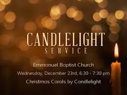 carols by candlelight emmanuel