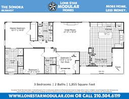 the sonora craftsman style modular home floor plan