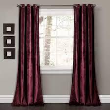 Plum Velvet Curtains Purple Velvet Curtains Drapes For Less Overstock