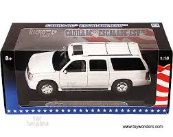 1 18 cadillac escalade 2003 cadillac escalade esv by ricko 1 18 scale diecast model car