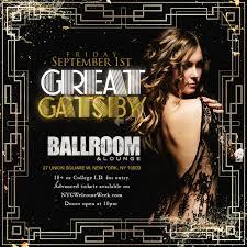 the great gatsby union square ballroom tickets union square