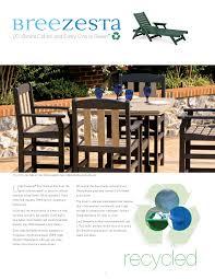 Breezesta Coastal Bar Chair by Breezesta Poly Outdoor Furniture
