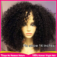 are there any full wigs made from human kinky hair that is styled in a two strand twist for black woman find more human wigs information about 180 density brazilian