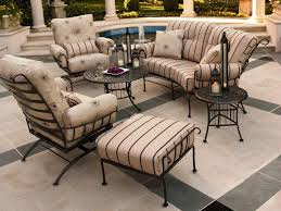 Wrought Iron Patio Furniture Lowes by Black Wrought Iron Patio Furniture Techethe Com