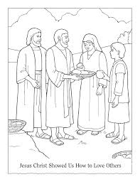 coloring pages for nursery lds lesson 5 jesus christ showed us how to love others