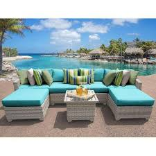 Outdoor Wicker Patio Furniture Sets 7pc Fairmont Outdoor Wicker Patio Furniture Set 07a