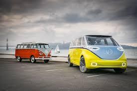volkswagen concept van volkswagen i d buzz concept first drive review automobile magazine