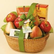 Sympathy Fruit Baskets Antique Brown Cross Because Someone We Love Is In Heaven Heaven In