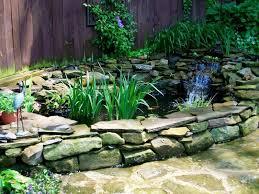 building a garden pond home outdoor decoration