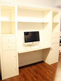 Diy Built In Desk Iheart Organizing Basement Progress Studio Desk Part 5