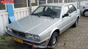 maserati biturbo sedan 1986 maserati biturbo youtube
