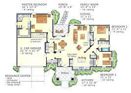 ranch floor plans open concept ranch home designs floor plans best one level house plans ideas on
