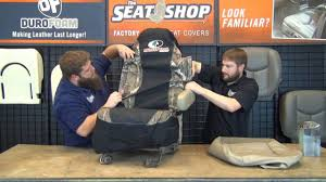 Camo Truck Seat Covers Ford F150 - slip on camo seat cover the seat shop youtube