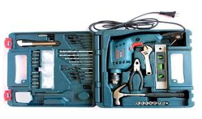 buy bosch drill kit tool kit online gsb 10 re at lowest price