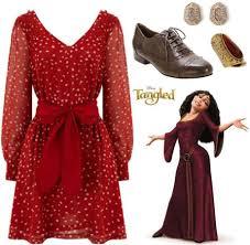 Mother Gothel Halloween Costume Fashion Inspiration Walt Disney U0027s Tangled 2 Brown Oxfords