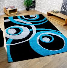 Teal Livingroom Black And White Carpet For Modern Living Room Black Living Room