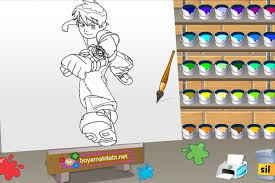 ben 10 paint game coloring games games loon