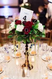 Burgundy Wedding Centerpieces by Burgundy And White Iron Rod Centerpieces At Rancho Bernardo Inn