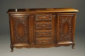 Antique Server Buffet by 19th Century Antique Louis Xv Style Sideboard