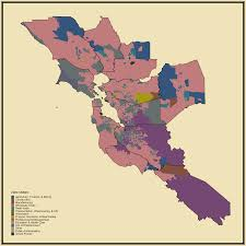 California San Jose Map by Prevalent Industry Statistical Atlas Of The United States