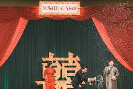 wedding backdrop design malaysia shanghai howard and yi s wedding at grand hyatt