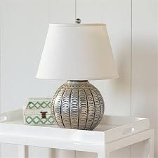 hammered metal lamp scallop from serena u0026 lily