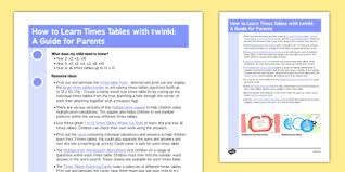 help learning times tables how to learn times tables with twinkl a guide for parents
