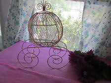 Cinderella Wire Carriage Centerpieces by Cinderella Carriage Centerpieces Ebay
