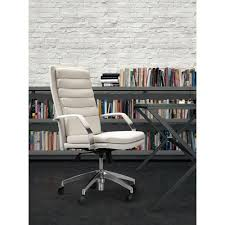 Zuo Modern Desk by Zuo Director Comfort White Office Chair 205327 The Home Depot