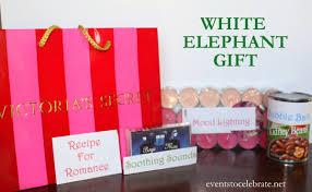 easy white elephant gift ideas events to celebrate