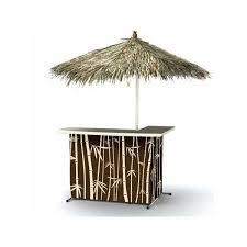 Tiki Outdoor Furniture by Outdoor Tiki Bar Set By Best Of Times Portable Bars