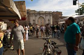 porta portese auto roma le marché de la porta portese visiter rome
