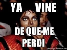 Michael Jackson Popcorn Meme - ya vine de que me perdi michael jackson popcorn eating meme