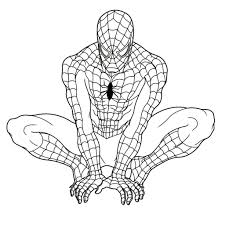 spiderman coloring pictures coloring pages kids