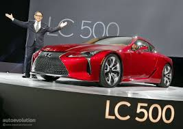 new lexus hybrid coupe the lexus lc could get f version with twin turbo v8 autoevolution