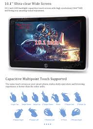 eincar online android 6 0 headrest monitor with 8g rom 10 1 inch