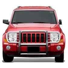 jeep front grill guard amazon com jeep commander xk front bumper protector brush grille