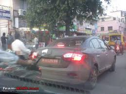renault fluence spied in india
