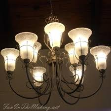 How To Make Homemade Chandelier How To Make A Bare Edison Bulb Chandelier Diy Home Decor Kitchen