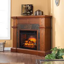 Electric Fireplace With Mantel Dimplex Fieldstone Electric Fireplace Hayneedle