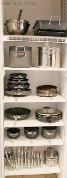 how to organize pots and pans in a cupboard 45 practical storage ideas for a small kitchen organization