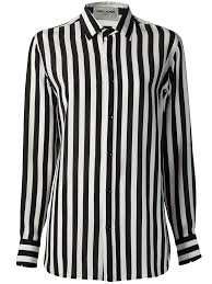 black and white striped blouse how to wear your laurent black white striped crepe de