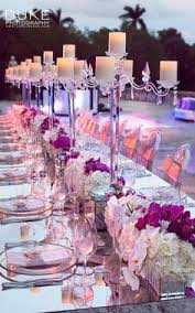 i love this look i love the trays underneath the arrangements
