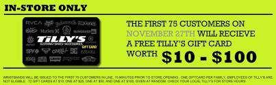 best black friday deals tillys tilly u0027s black friday giveaway coupon u2013 coupon pro