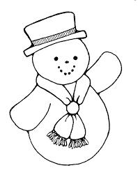 snowman clipart black white clipartxtras