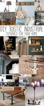 Industrial Chic Home Decor Press Diy Tutorial Industrial And Rustic Industrial