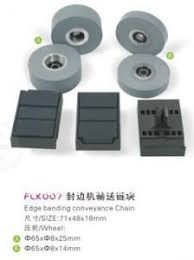 edge banding conveyance chain edge banding machine parts fravol