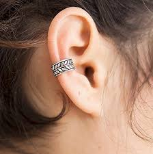 ear wrap silver ear cuff ear wrap ear cuff earcuff