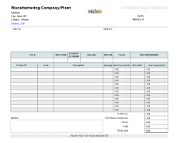 Towing Service Invoice Template by Download Blank Customs Invoice Rabitah Net