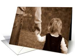 happy birthday dad from daughter greeting card holding daddy u0027s